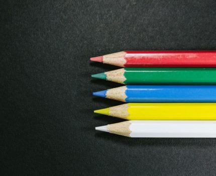 テーマカラー3分類の色